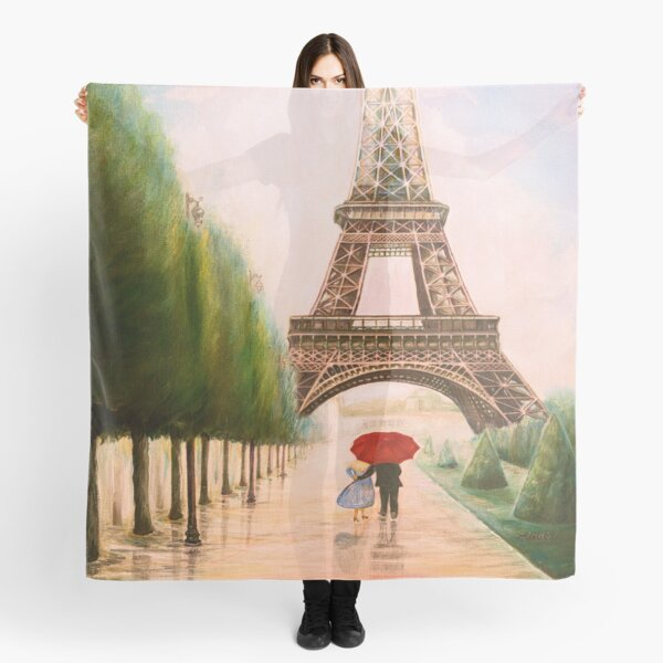 At the Eiffel Tower Scarf