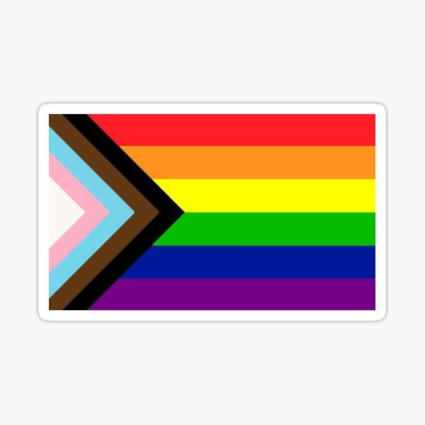 Progressive Pride Flag Sticker