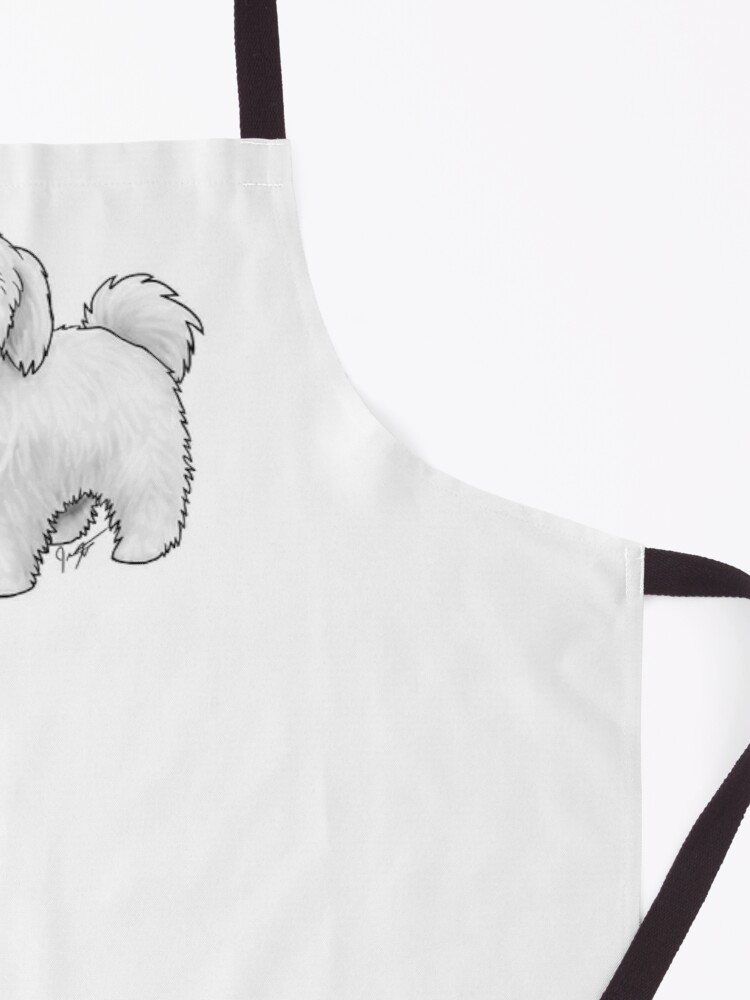 Alternate view of Maltese - Puppy Cut Apron