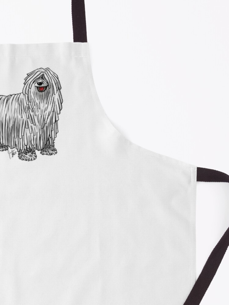 Alternate view of Komondor Apron