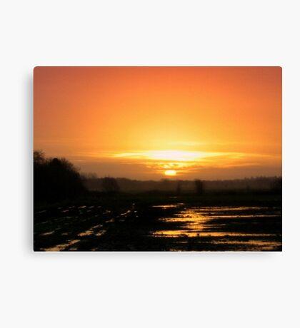 Sunrise -  When I woke up this morning Canvas Print