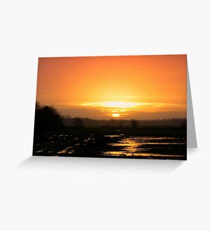 Sunrise -  When I woke up this morning Greeting Card
