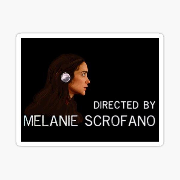 Directed by Melanie Scrofano Sticker
