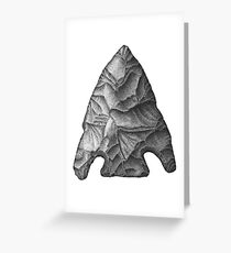 Projectile Point Greeting Card