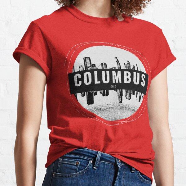 Columbus Ohio City Background Classic T-Shirt