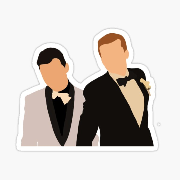 gallavich wedding day Sticker