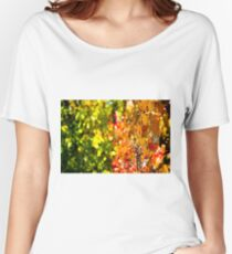 Colorful Fall Women's Relaxed Fit T-Shirt