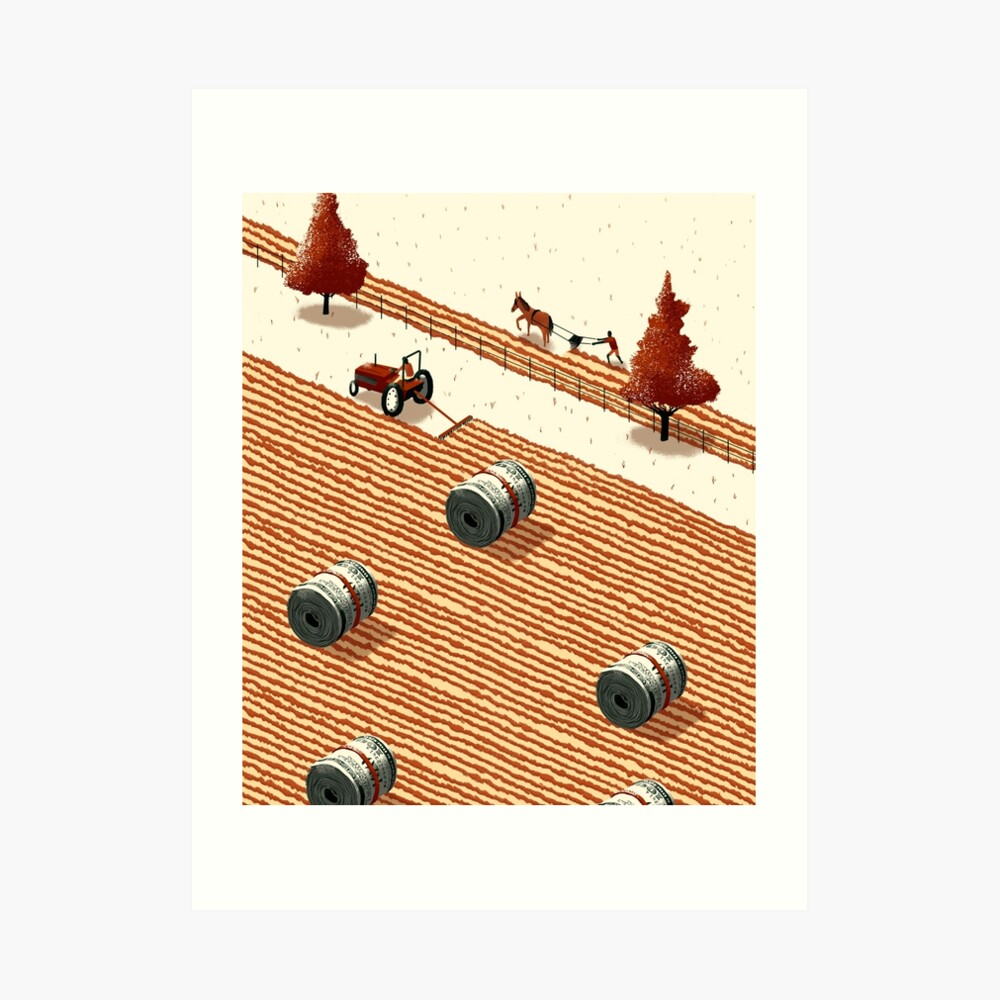 Fruitful Farming Art Print