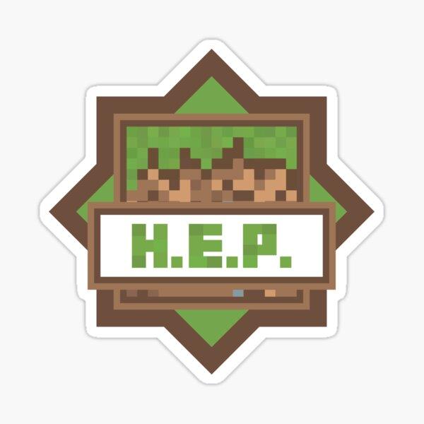 H.E.P. Emblem - Hermitcraft Sticker