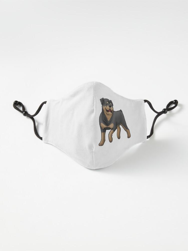 Alternate view of Rottweiler  Mask