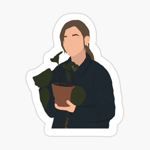 Dani Clayton Proposal Plant - The Haunting of Bly Manor Sticker