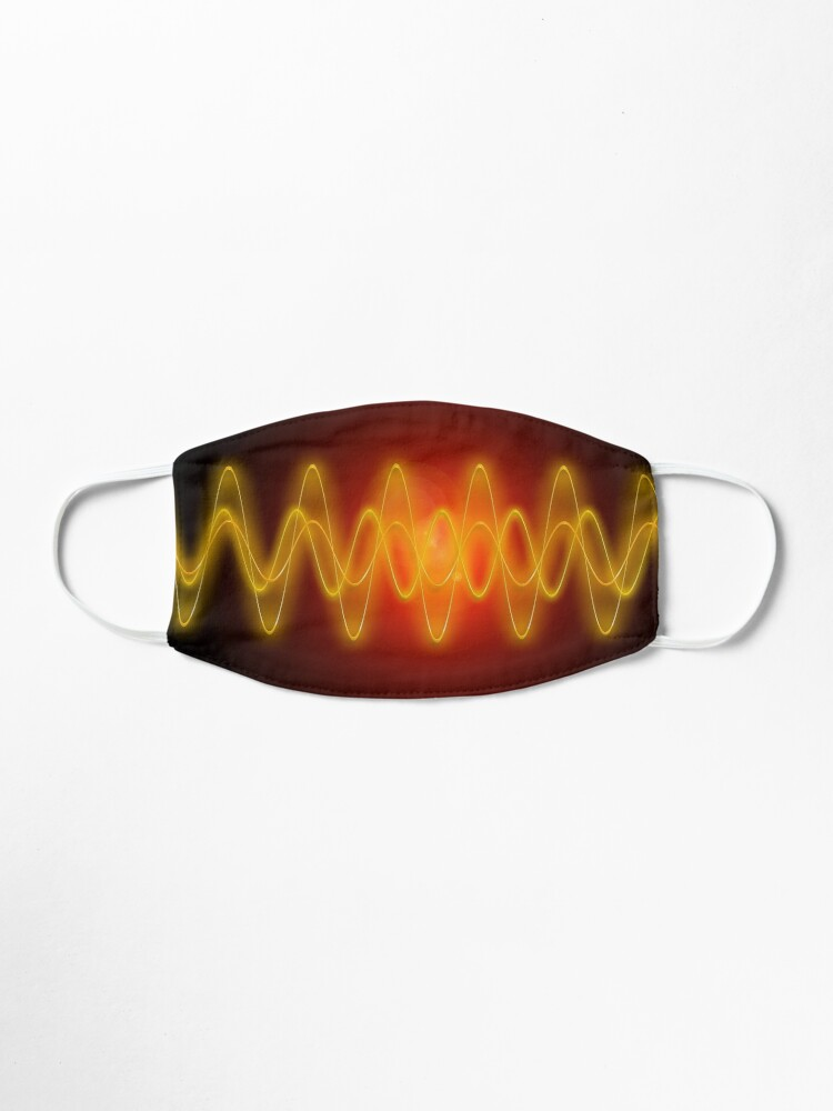 Alternate view of Red-Yellow EMF Wave Mask Abstraction Mask