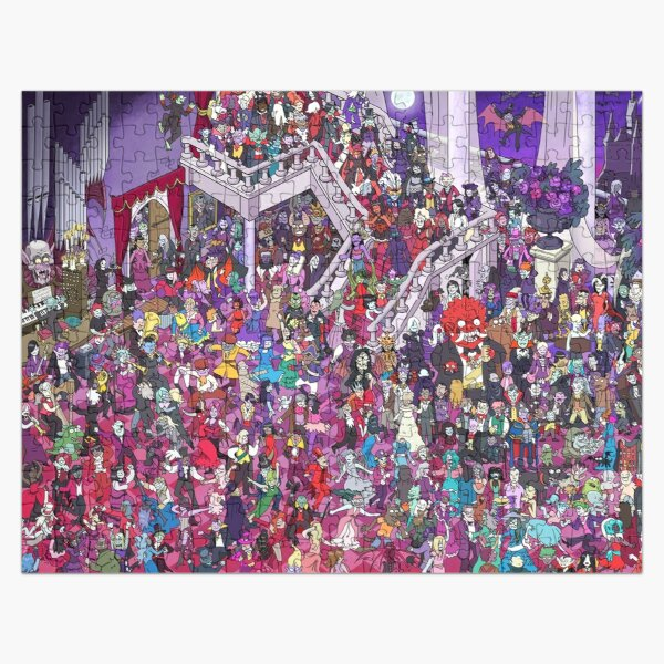 The Vampires Ball Jigsaw Puzzle