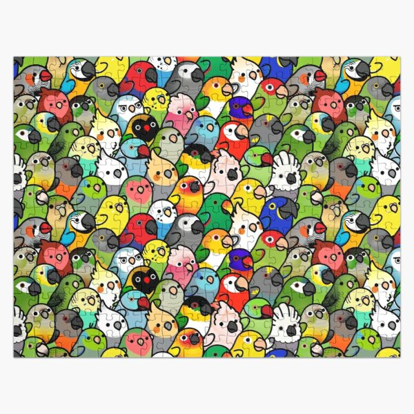 Motif Everybirdy Puzzle