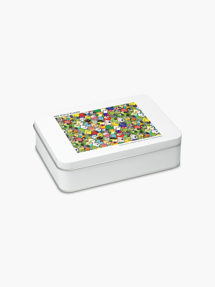 Alternate view of Everybirdy Pattern Jigsaw Puzzle