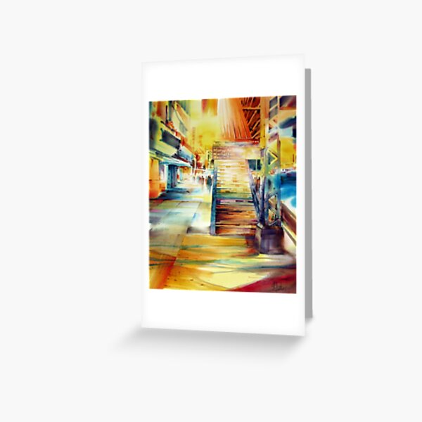 Marcy Station Greeting Card
