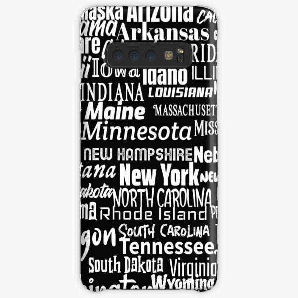 50 American States Samsung Galaxy Snap Case