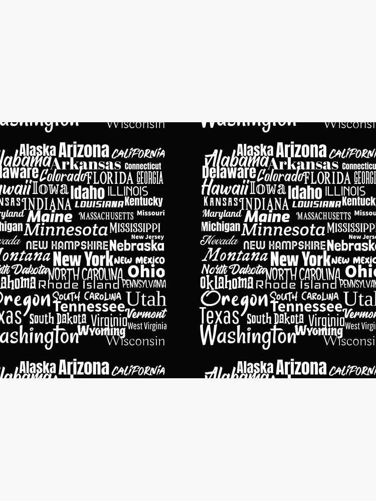 50 American States by ds-4