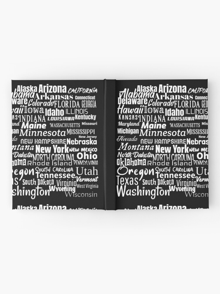 Alternate view of 50 American States Hardcover Journal