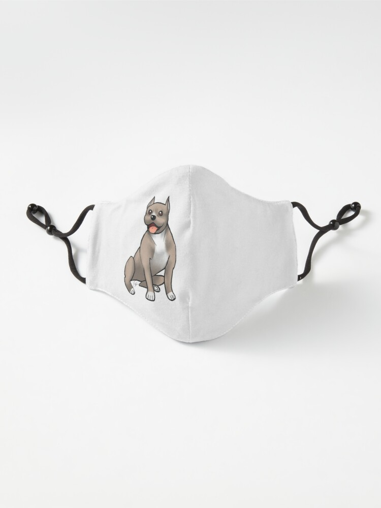 Alternate view of American Staffordshire Terrier - Brown and White Mask
