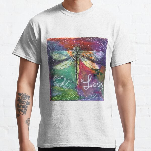 For the Love of a Dragonfly Classic T-Shirt