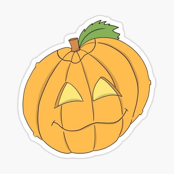 Spoopy Halloween die-cut cute pumpkin sticker Sticker