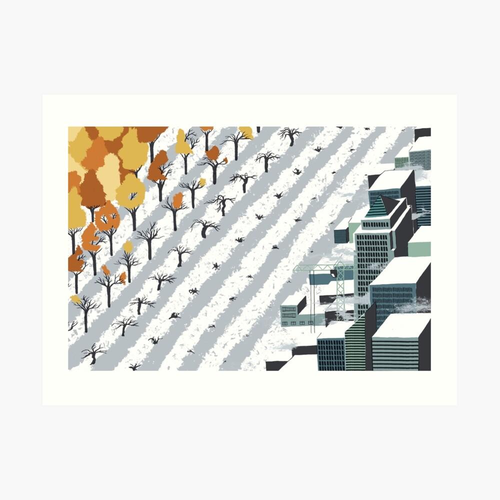 Urbanisation Art Print