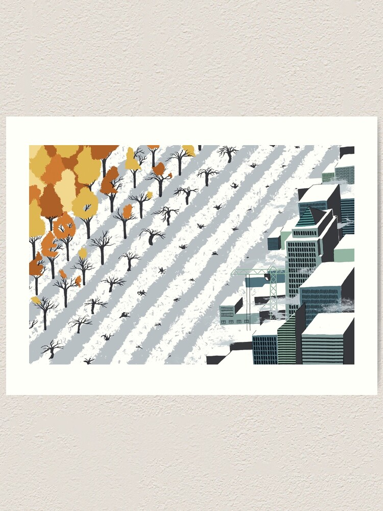 Alternate view of Urbanisation Art Print
