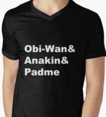 The Prequel Trio Mens V-Neck T-Shirt