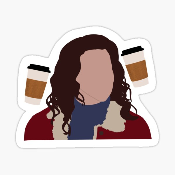 Coffee Girl Sticker