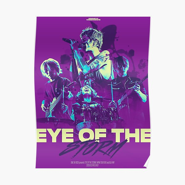 Eye of the Storm (ONE OK ROCK) POSTER Purple ver. Poster