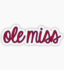 University of Mississippi Sticker
