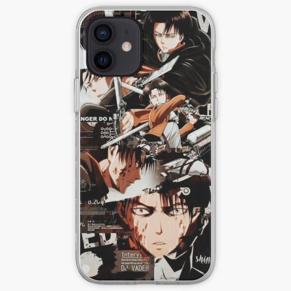 Levi Ackerman Funda blanda para iPhone