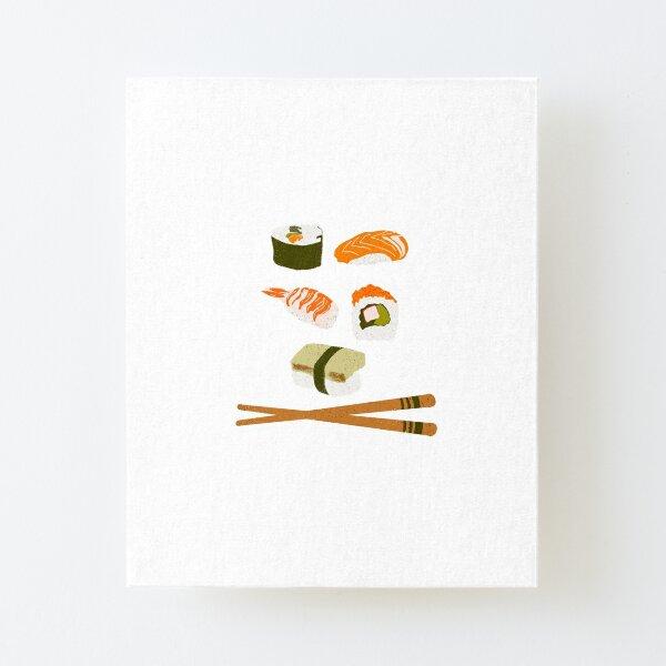 Sushi Canvas Mounted Print