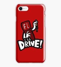Flash will drive! iPhone Case/Skin