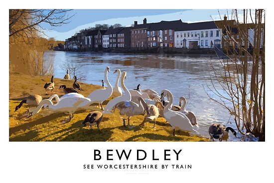 Bewdley (Railway Poster) by Andrew Roland