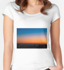 Sunrise ... Women's Fitted Scoop T-Shirt