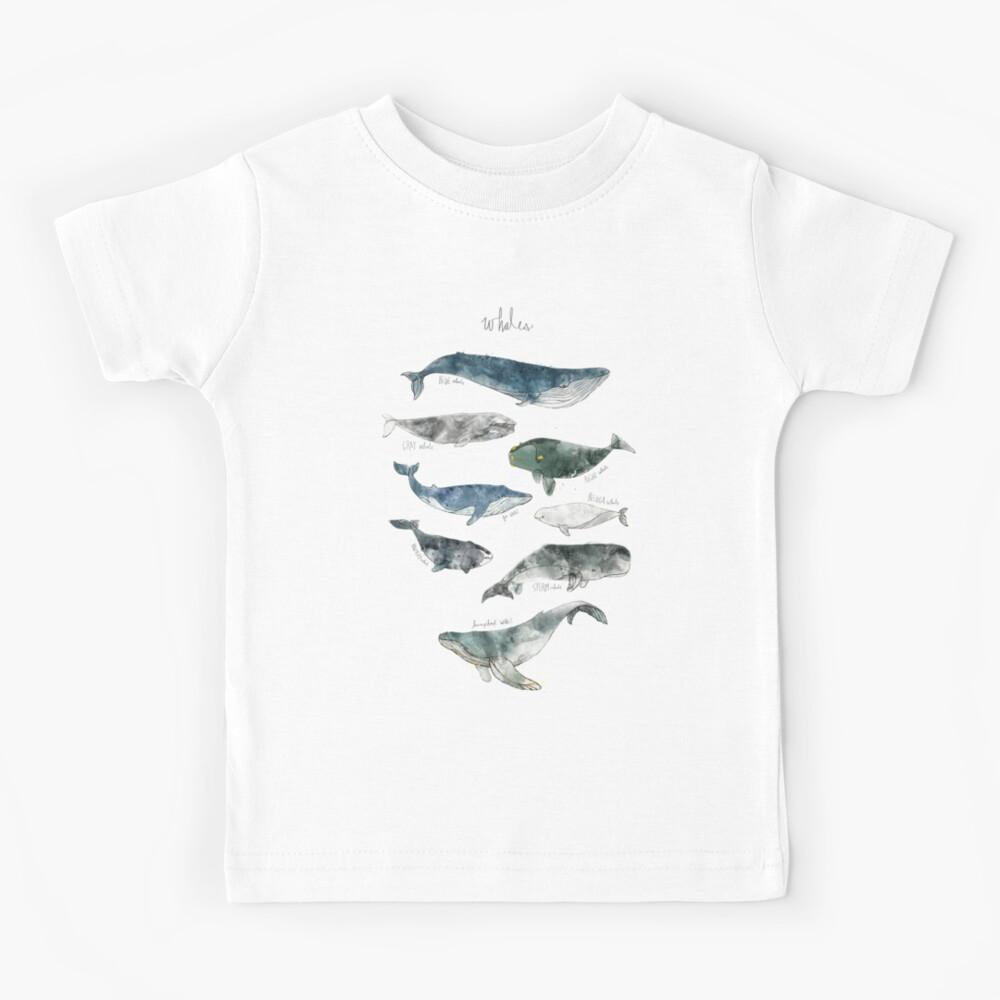 Whales Kids T-Shirt