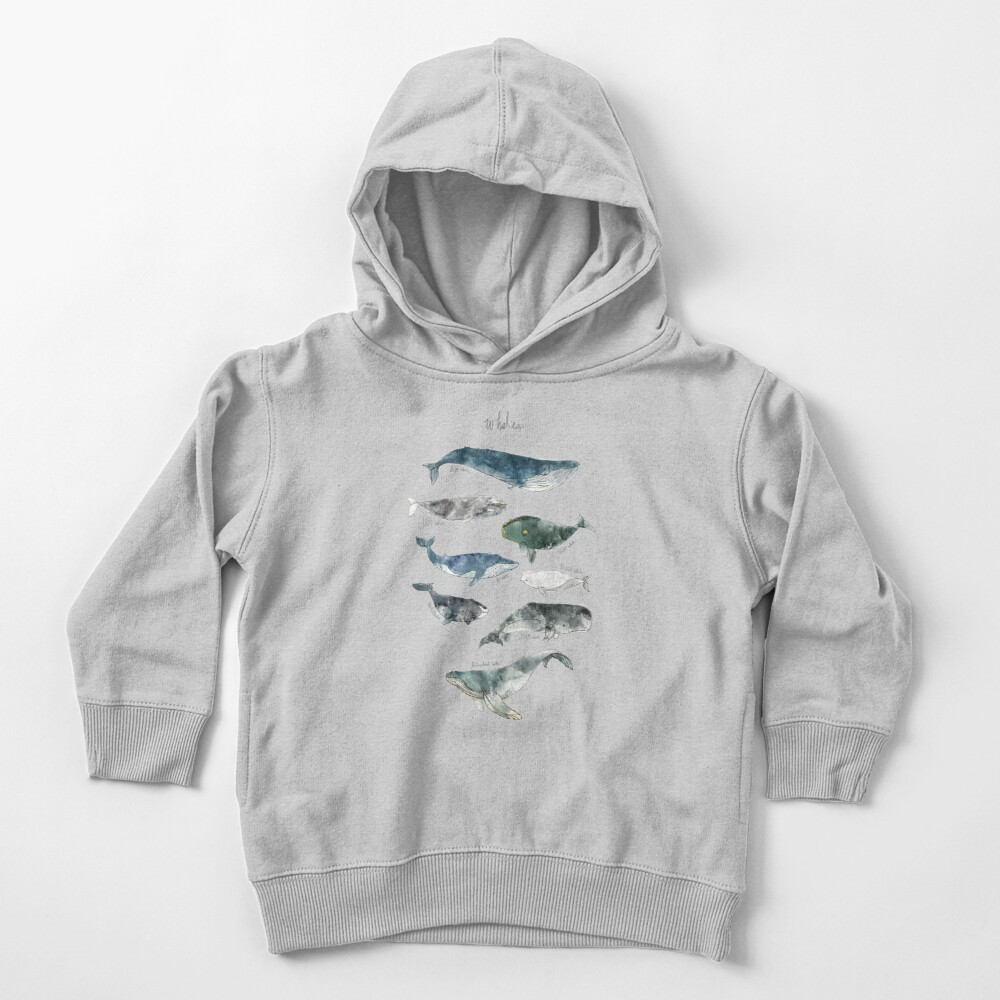 Whales Toddler Pullover Hoodie
