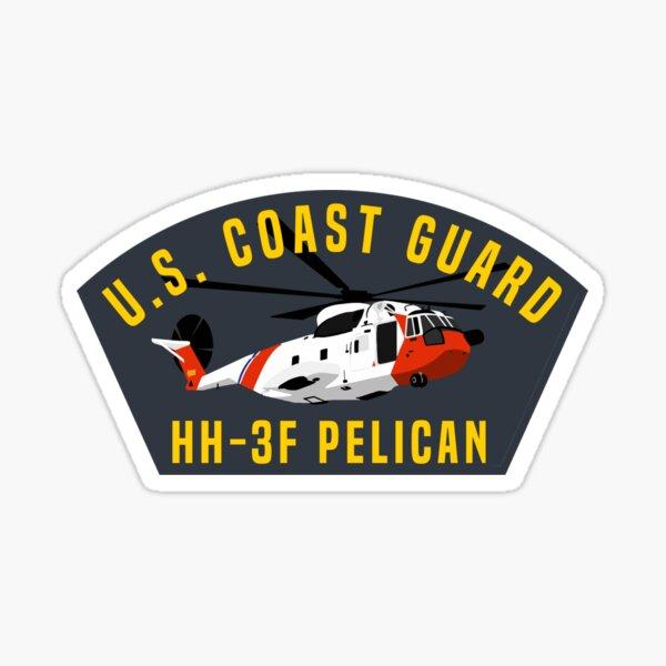 Cover Art Series - Coast Guard HH-3F Pelican Helicopter Sticker