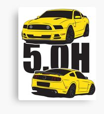 5.Oh Stang Canvas Print