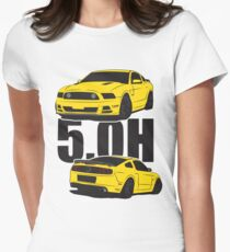 5.Oh Stang Fitted T-Shirt