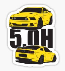 5.Oh Stang Sticker