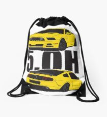 5.Oh Stang Drawstring Bag