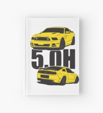 5.Oh Stang Hardcover Journal