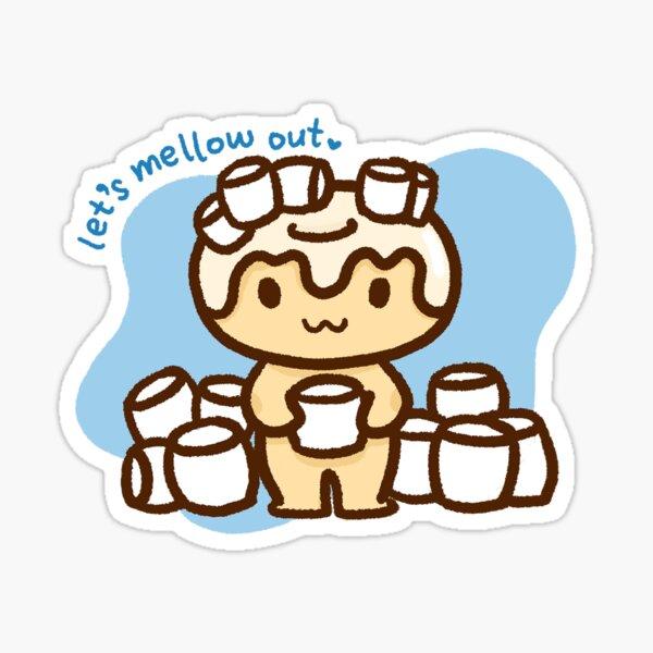 Marshmallow Sticker