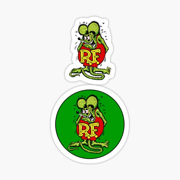 Rat Fink Sticker Sticker