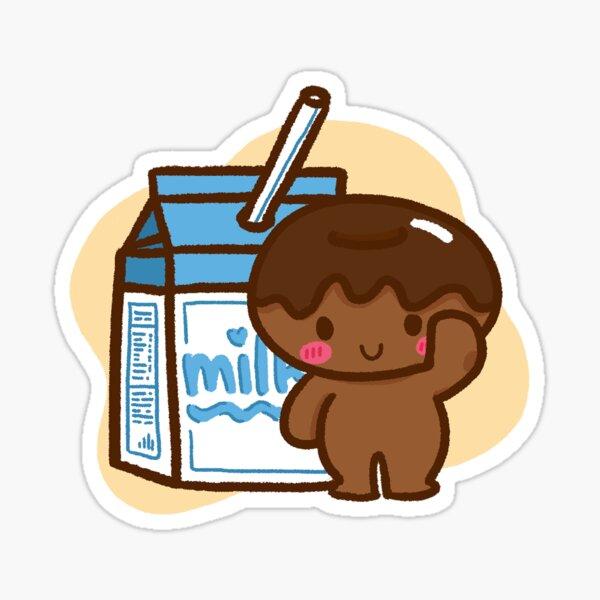 Milk Chocolate Sticker