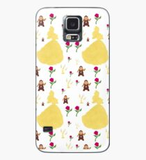 Beauty & The Beast Pattern Case/Skin for Samsung Galaxy