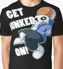 Sans - Undertale - GET DUNKED ON! Graphic T-Shirt